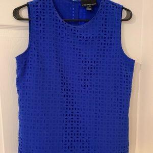 Dress sleeveless shirt